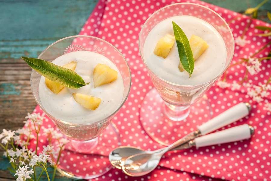 Ananas-Kokos-Quark-Creme