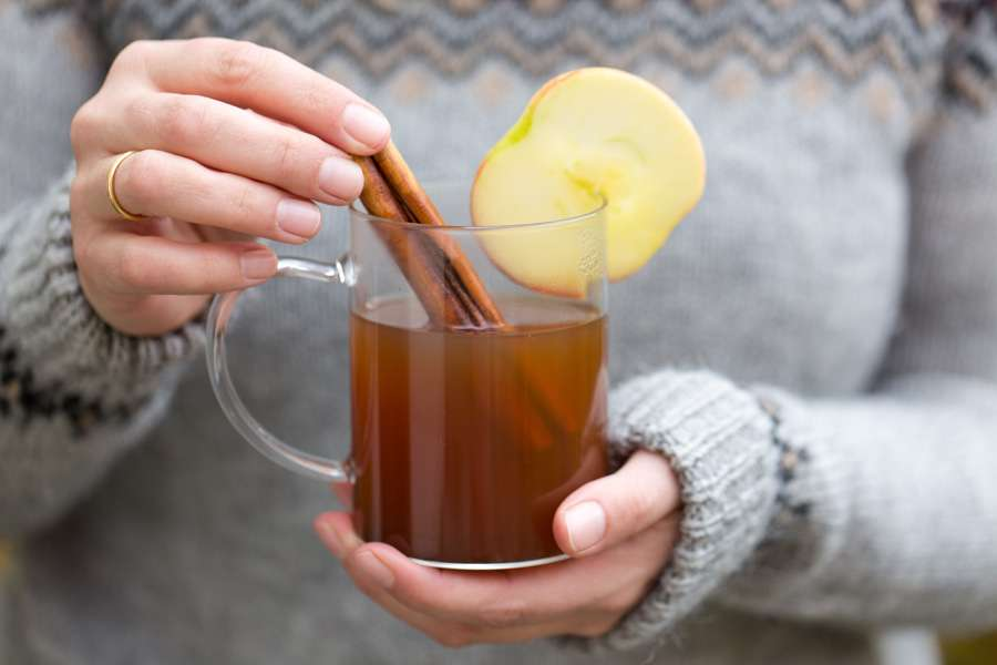22.02.2019: Hot Apple Cider with Pear Apple Butter