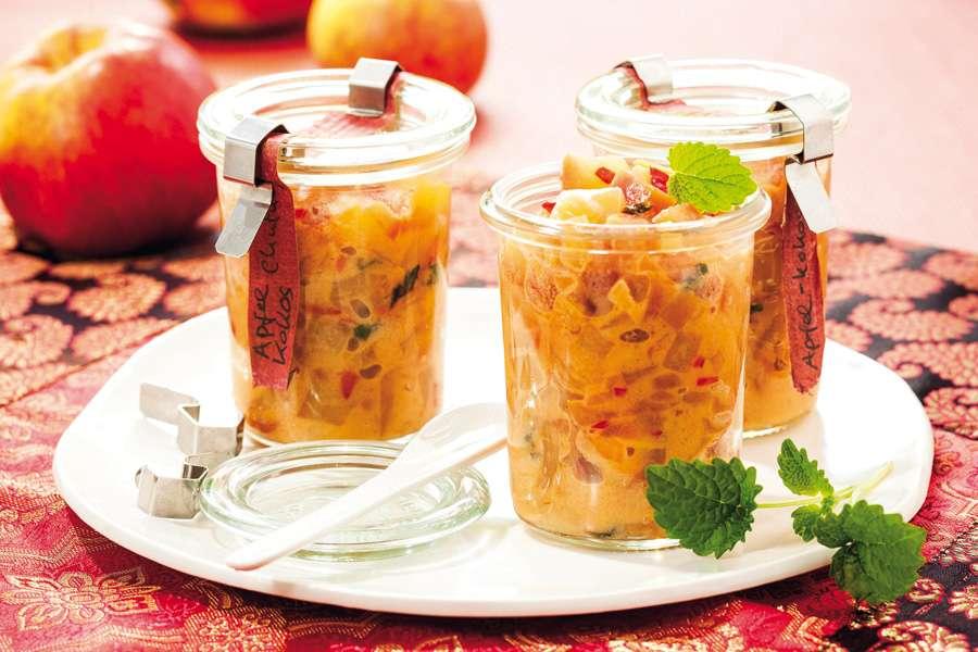 Apfel-Kokos-Chutney