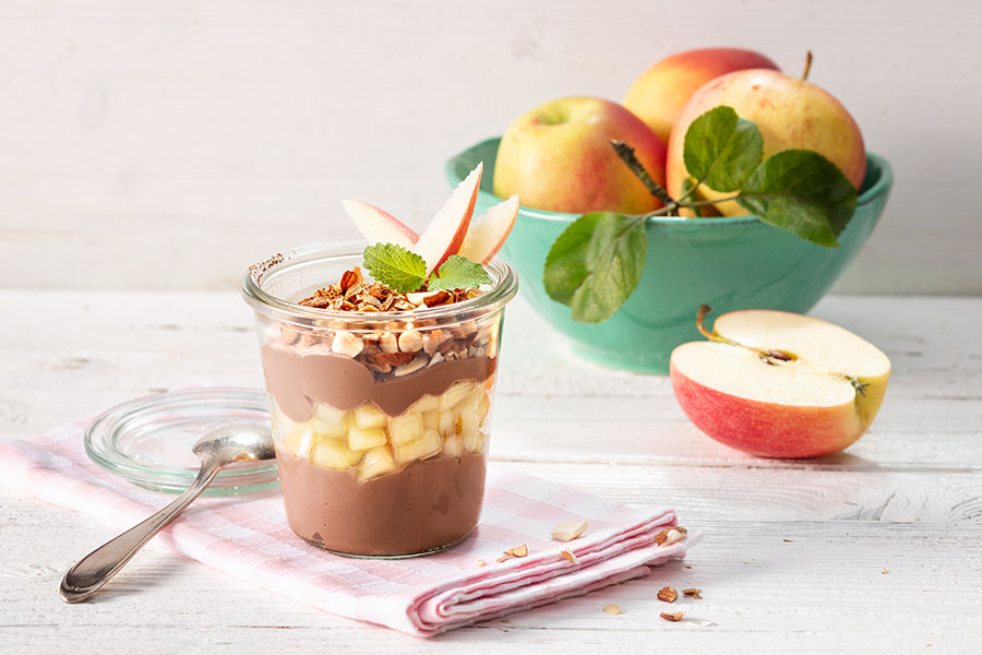Apple-Chocolate-Trifle
