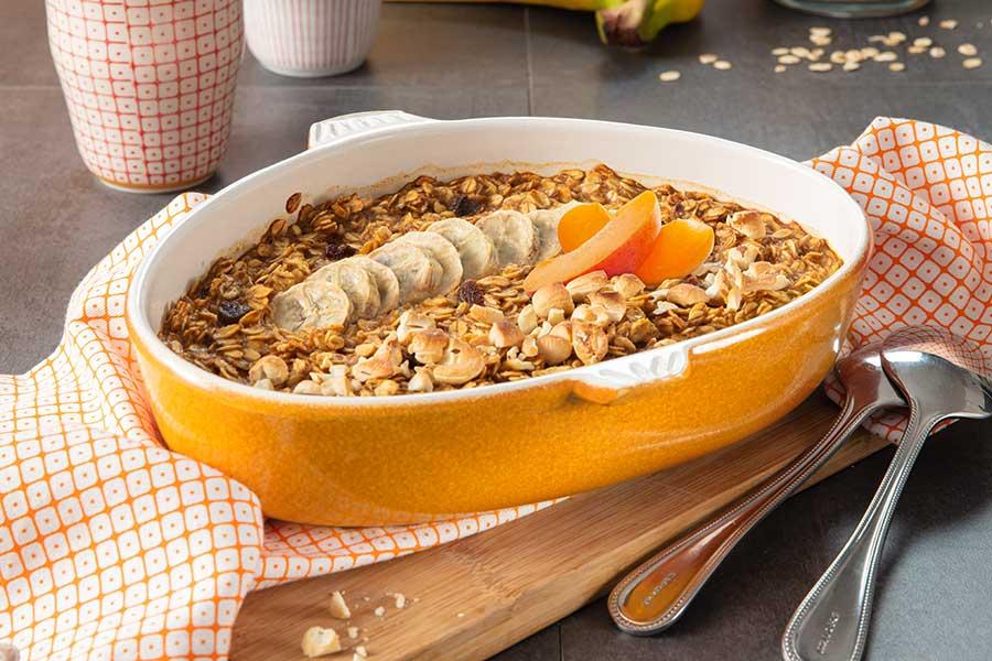 Baked Oats Porridge