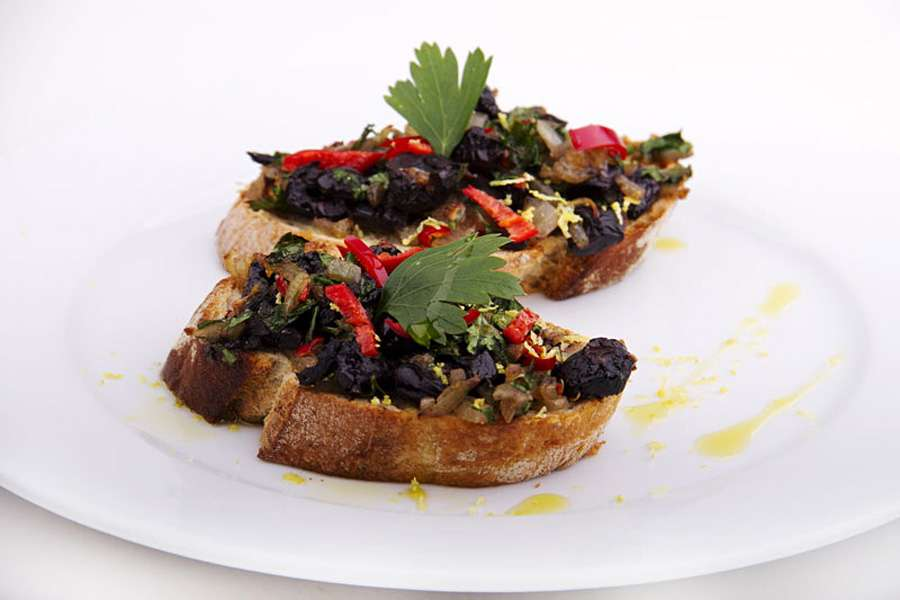 Bruschetta Olive-Chili