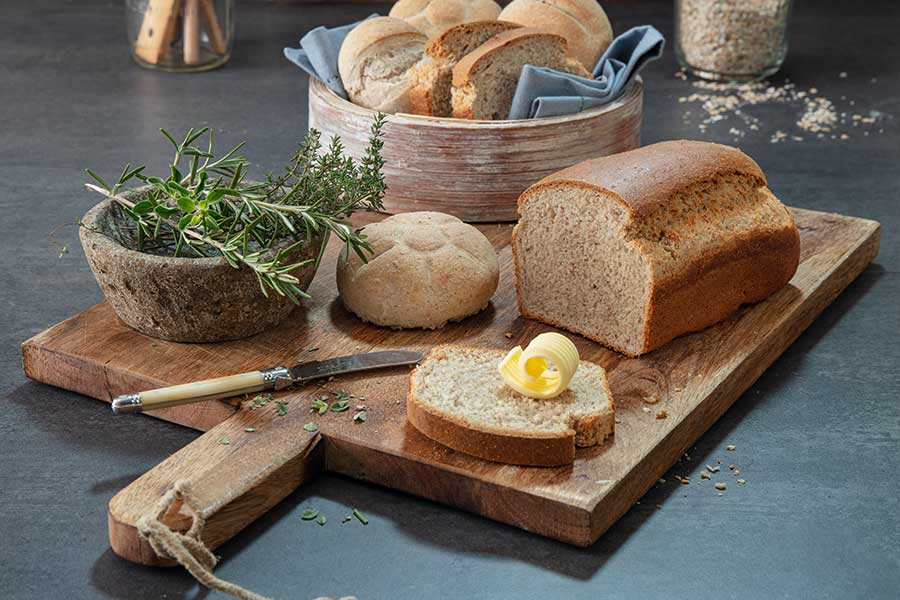 Buchweizen-Brot & Brötchen