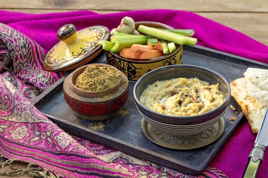 Schnelles Hummus aus Chana Dal