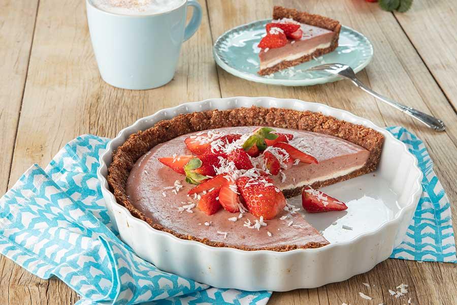 Erdbeer-Schoko-Tarte