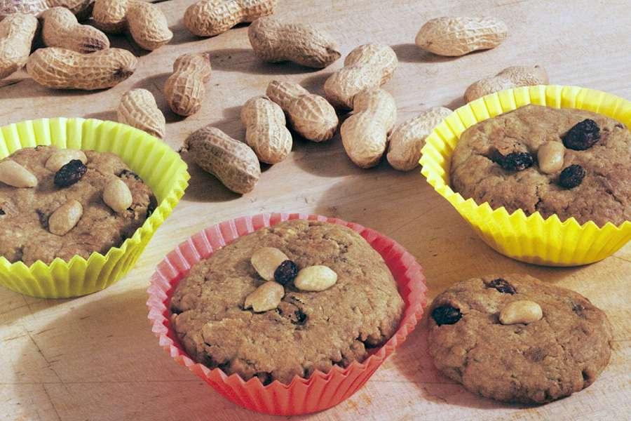 Erdnuss-Cookies (Kinderrezept)