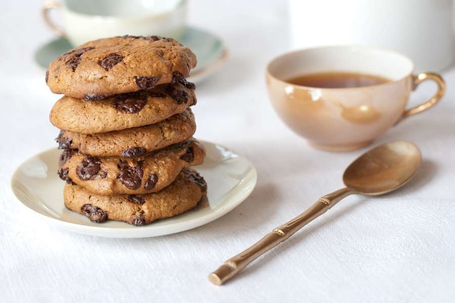 Peanut Butter Oatmeal Cookie with Chocolate Chips