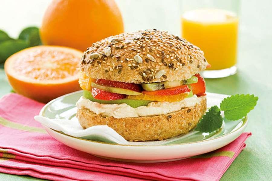 Früchte-Burger
