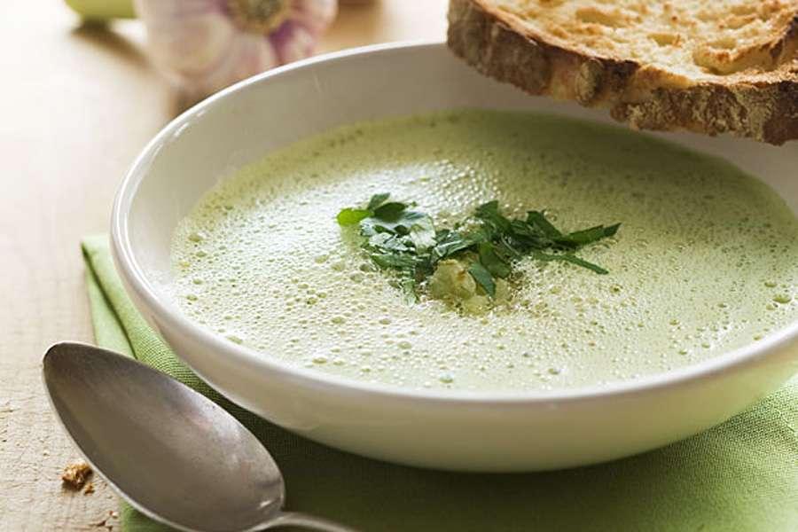 Grüne-Linsen-Suppe