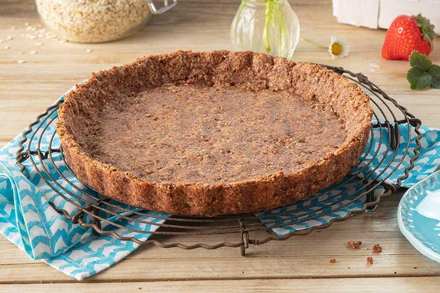 Grundrezept Kuchen- oder Tarteboden ohne Mehl