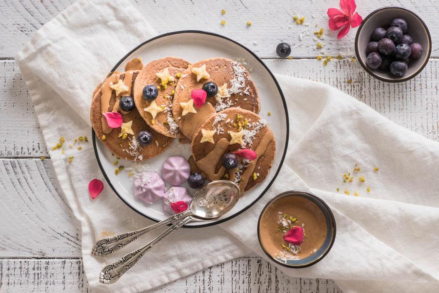 Luftige Hafer-Pancakes aus nur 4 Zutaten