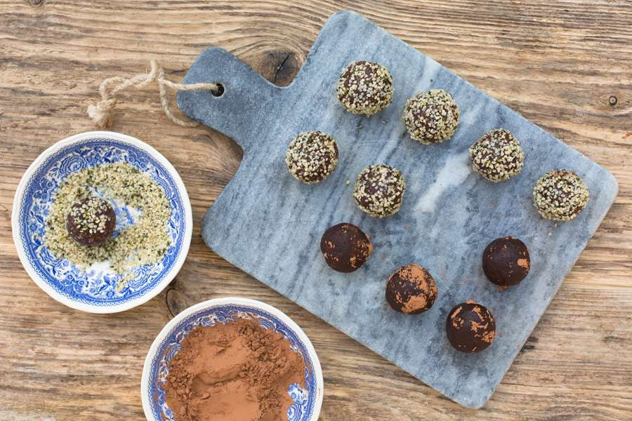 Hemp and Cocoa Balls