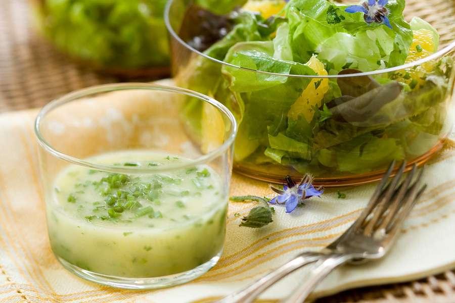 Dressing für herbstliche Salate