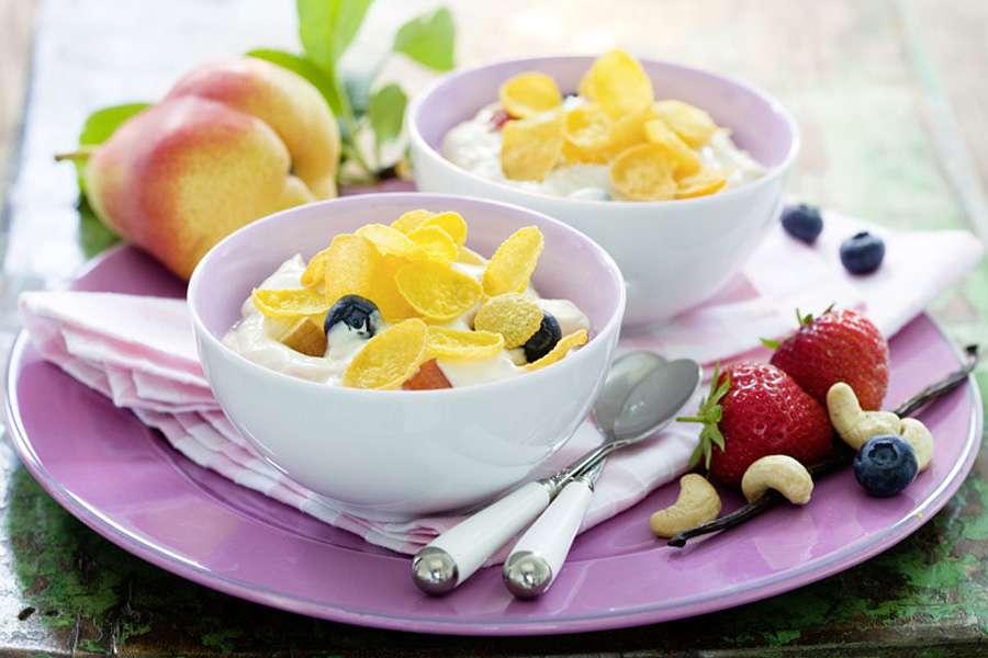 Joghurt mit Cashewmus
