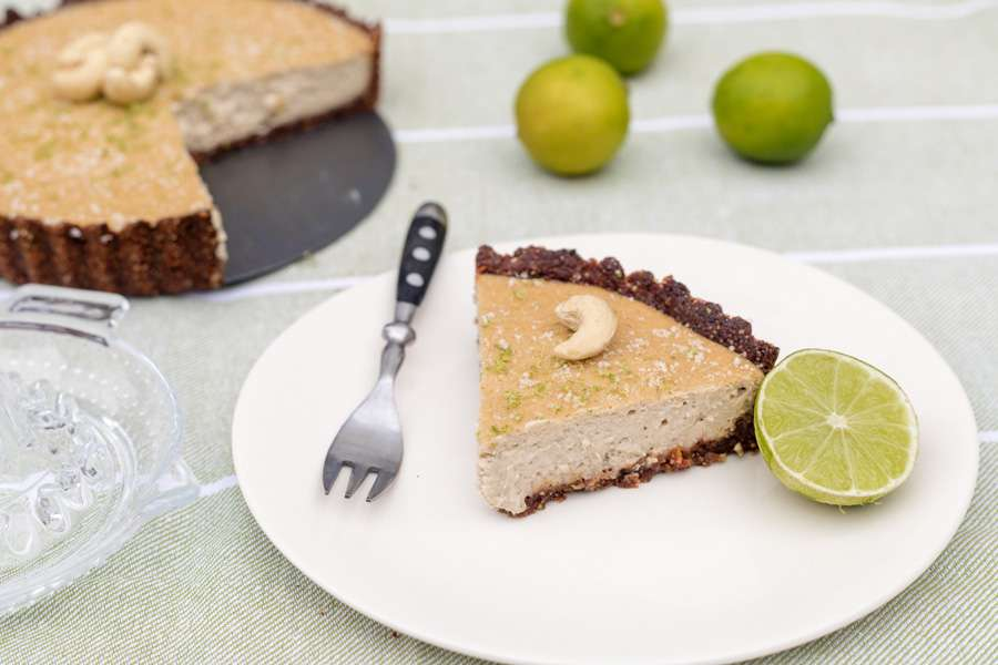 Cheesecake with Lime and Vanilla