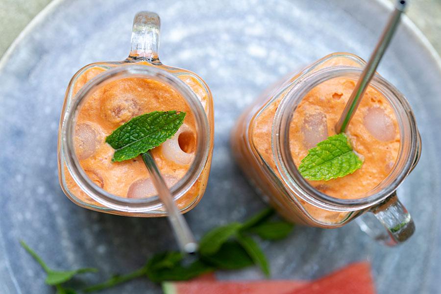 Kokos-Melonen-Shake
