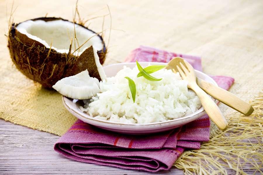 Bio Recipe Coconut Rice Rapunzel Naturkost
