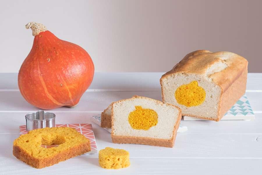Kürbis-Apfelkuchen mit Überraschung