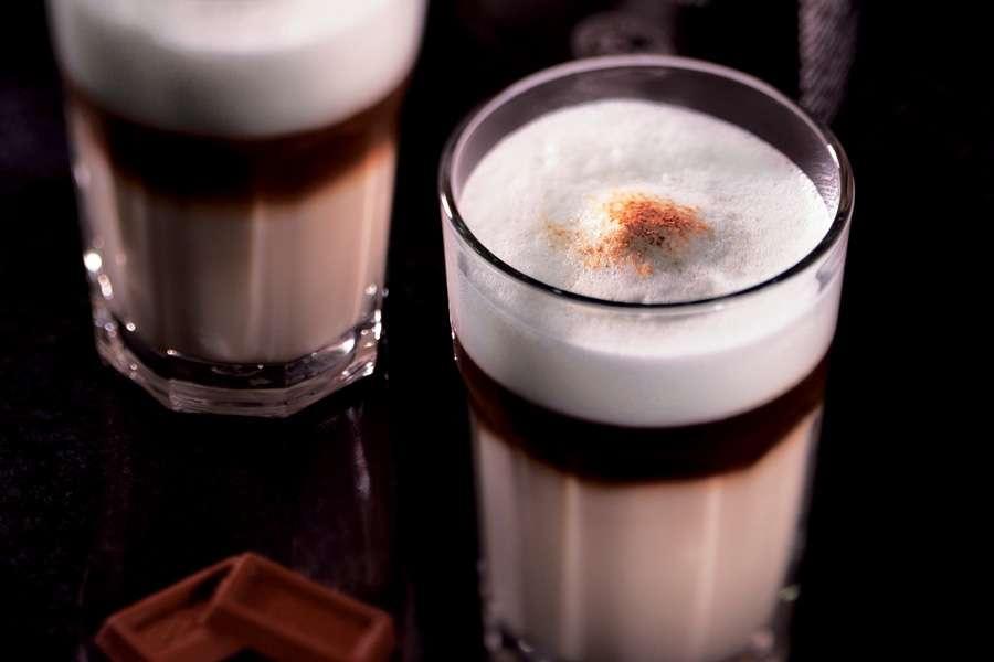 Latte Macchiato mit Samba