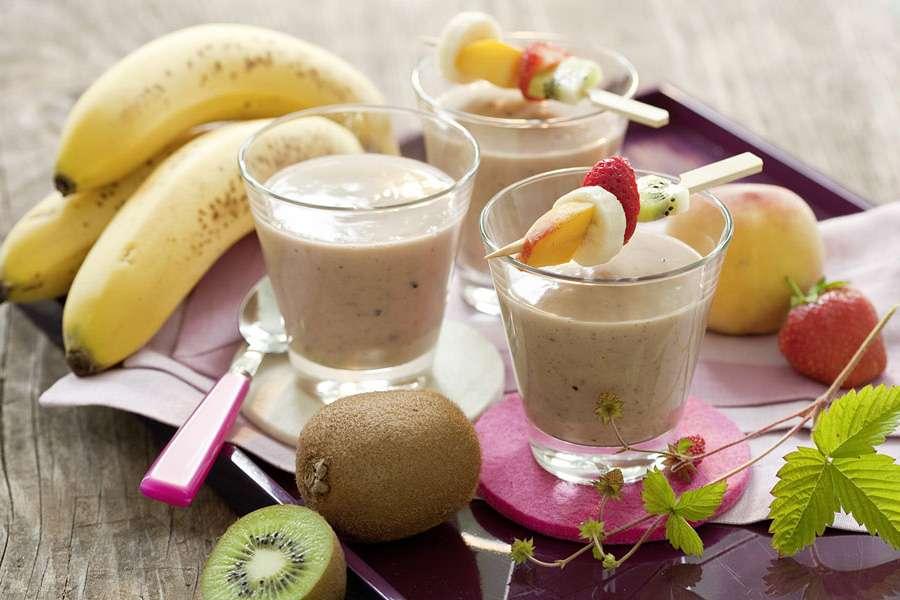 Mandel-Frucht-Drink