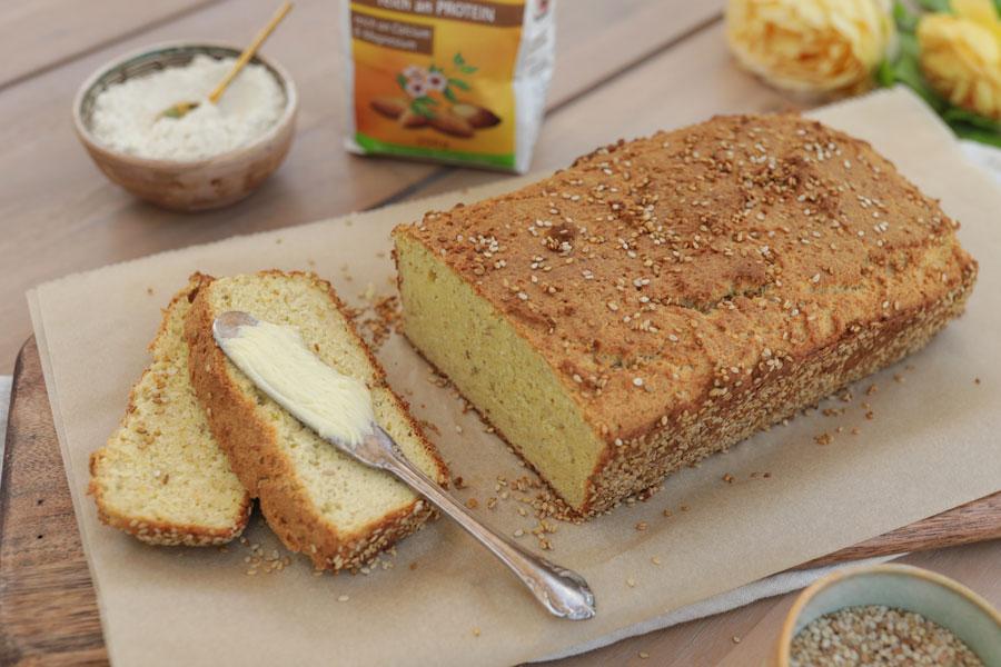 Mandelmehl-Brot, low carb