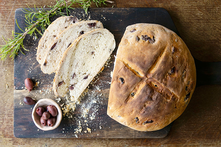 Olive Bread with Rosemary