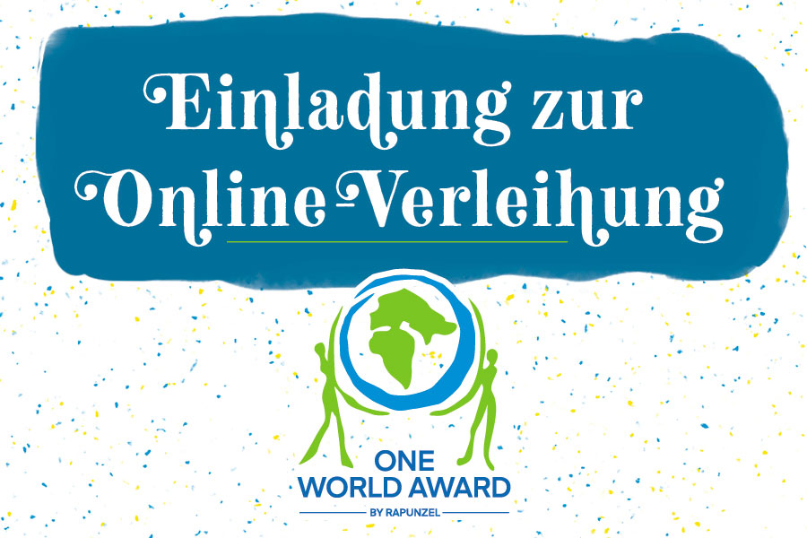 Online Preisverleihung des One World Awards
