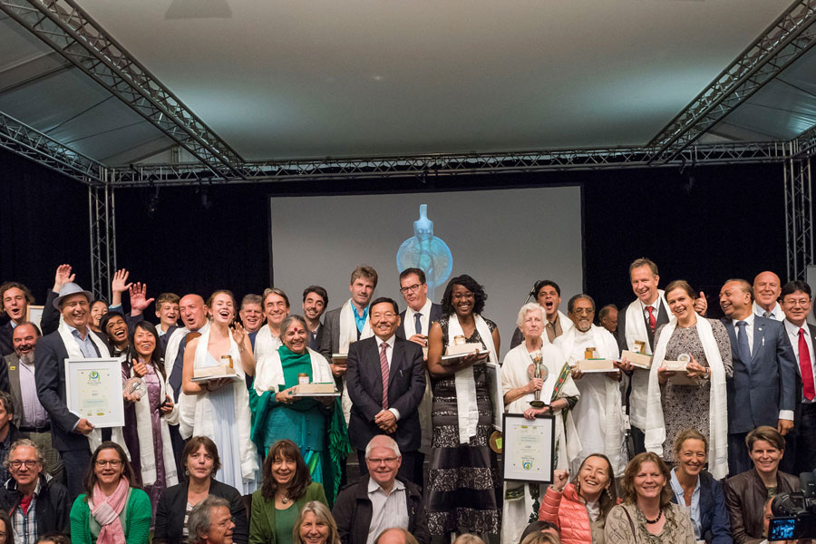 Fünfte One World Award Verleihung 2017