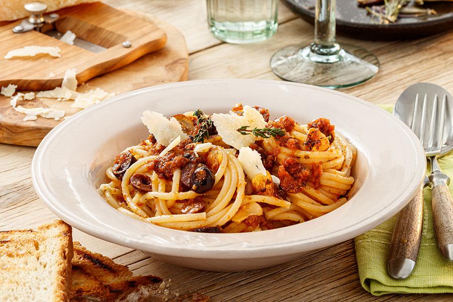 Spaghetti all`Italiana