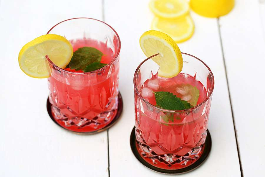 Rhabarber Limonade