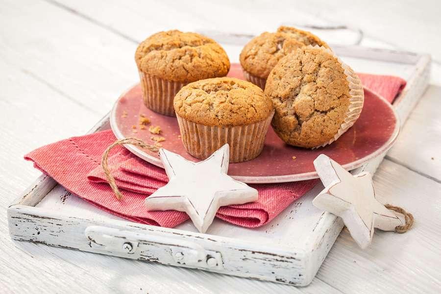 Schoko-Kokos-Zimt Muffins