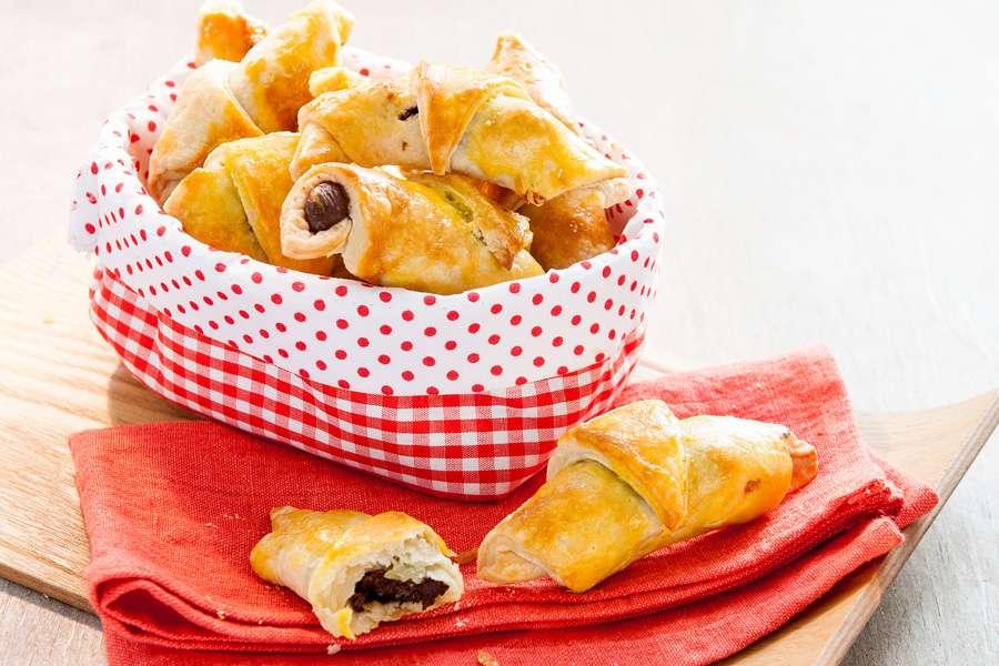 Frühstücks-Hörnchen mit Choco