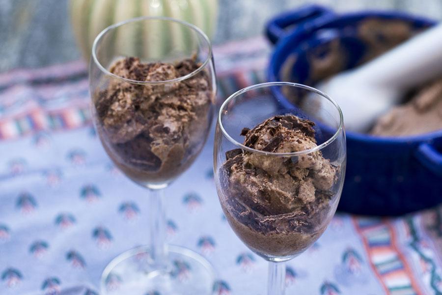 Sesam-Kokos Eis