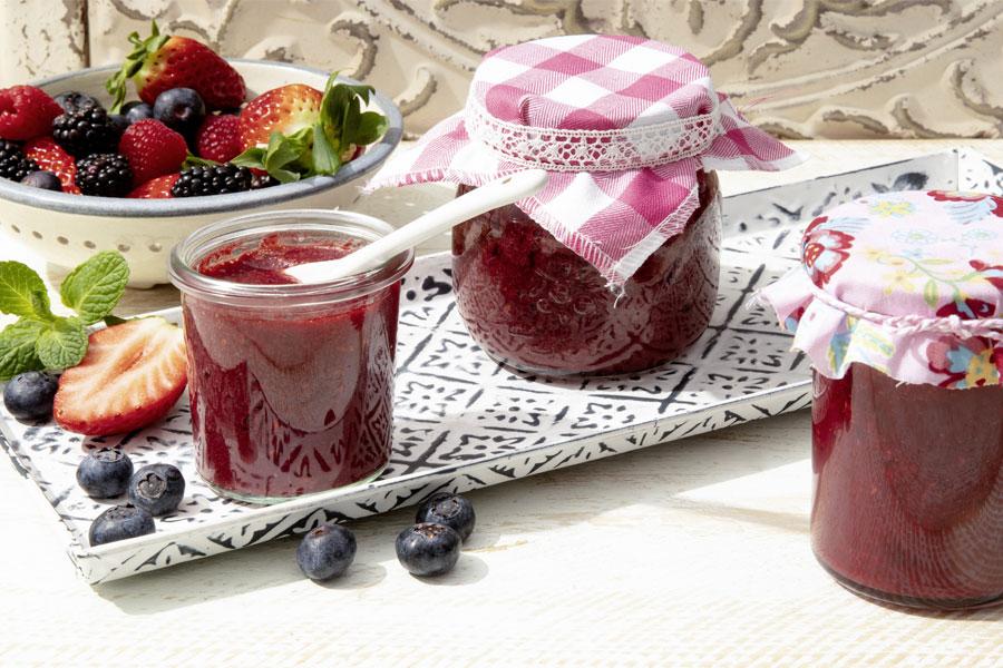 Sommer-Beeren Marmelade