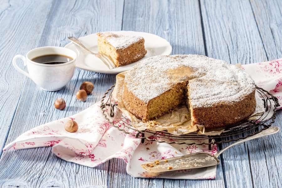 Haselnuss-Kuchen