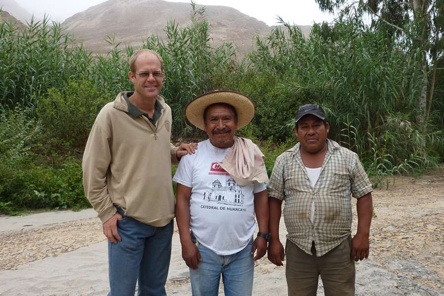 Stefan Bederski, owner of Topará with two employees