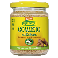 Gomasio with turmeric, HAND IN HAND