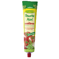 Tomato paste mediterranean in the tube