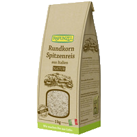 Round-grain speciality rice brown, 1kg