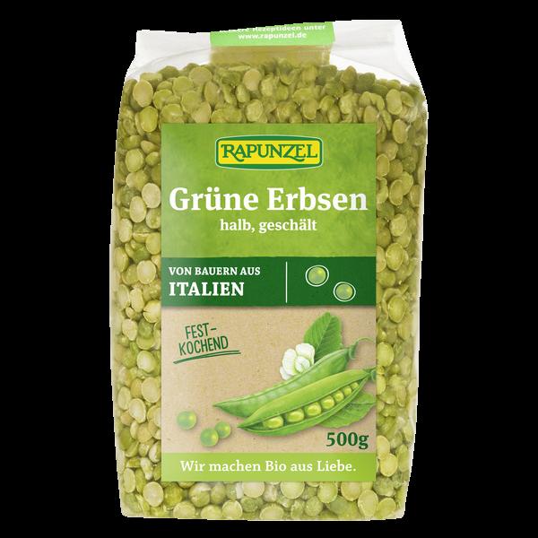 Bio Produkt Erbsen Grün Halb Geschält Rapunzel Naturkost